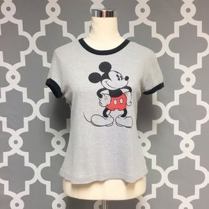 Vintage Disney Mickey Mouse Classic T Shirt 2L